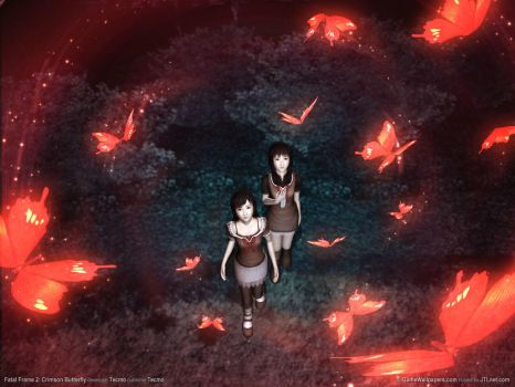 Fatal Frame Crimson Butterfly by azureOdragon