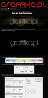 Dark But Vivid Text Effect by shapemaster
