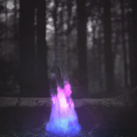 Colorful Fire Animation by Rawrexe