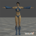MK9: Kitana Alternate Costume by blufan