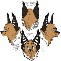 Caracal Ref. by MidnightAlleyCat