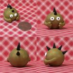 Blixt the Timid Monster by TimidMonsters
