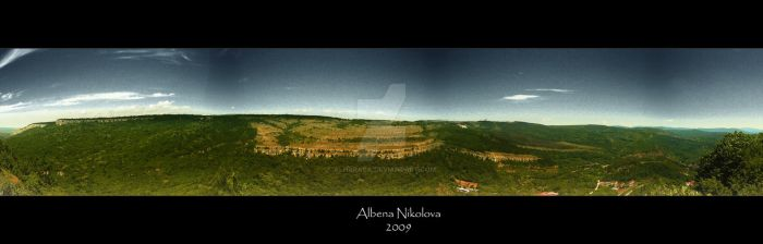 The crown of my home-town 1 by Alharaca