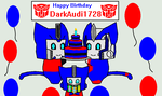 Happy Birthday DarkAudi1728 by TFLightPrime