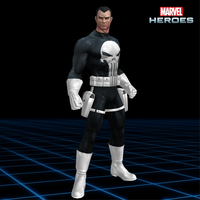 Marvel Heroes - The Punisher [Classic] by CaxUchiha