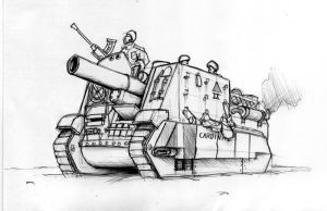 Imperial Guard Cardianal SPG by StugMeister