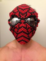 Spider-Man Full Kandi Mask by guanwenchen