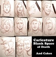 Deviant Caricatures by Rainsushi