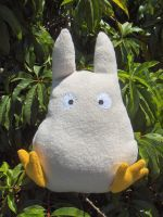 Baby Totoro Plushie by Sparrow-dream