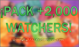 +Pack 2,000 watchers! by iFunnyLights