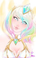Elementalist Lux fan art by JamilSC11