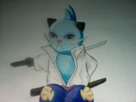 Dewott as Sasuke by Sasuke-Link-Uchiha