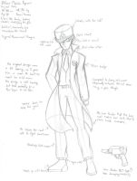 Officer Ryuusei - Concept (Week of Fighters - 3) by GlassMan-RV