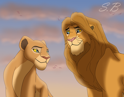 Sarafina and Kane - Ours by sbrigs