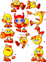 Awesome Pac-Man Doodles by JamesmanTheRegenold
