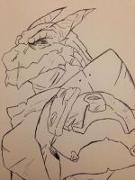 Baelor Breakspear The Dragonborn by Twisted-Serpent