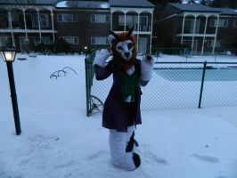 Ima hit you withs a ball of snow by sasukewolf13