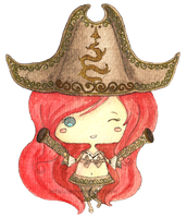 LoL- Miss Fortune (Chibi) by Letiku
