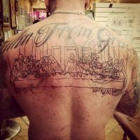 last supper 1st sitting by Richroyalty