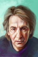 Alan Rickman by ladunya
