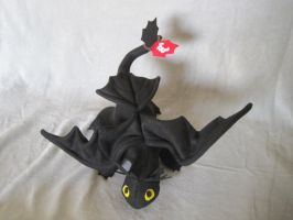 Toothless Plush Final Version by Skylanth