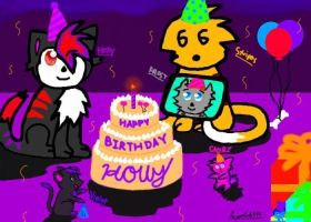Holly's Birthday!!! by LEAGUEOFLEGENDS999