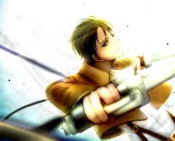 Lance Corporal Rivaille [+Speed Paint] by kiku-atama