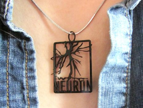 Neuron Pendant by TheWonderCat
