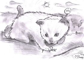 little kitty by rawis007