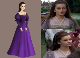 Annes Lavender Riding Gown: Anne of a Thousand day by Inuyashasmate