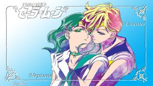 Sailor Uranus And Neptune by Kar-leeBowery