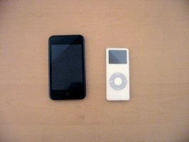 iPod Touch and Nano by firefish8