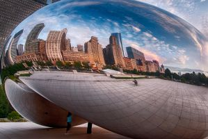 Chicago Bean, somewhere there by alierturk