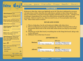 Idea Day Layout by Blue-Storm-Spirit