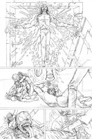 New Avengers Fight Scene page two by tomographiser