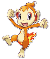 390 Chimchar by SarahRichford
