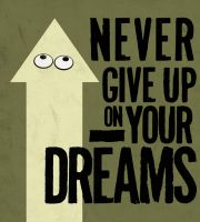 Never give up by SD-Designs