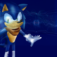 Sonic Boom Electricity by supersonicthehedghog