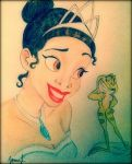 The Princess and the Frog by elegy01