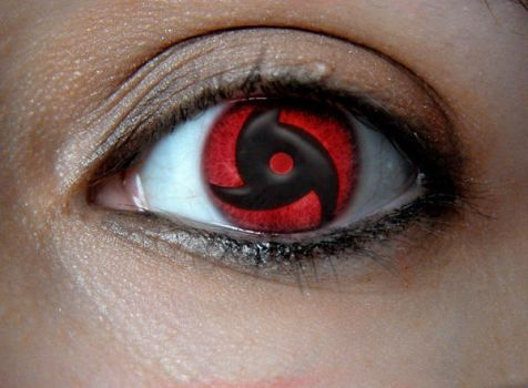 Female Sharingan by oDanYo
