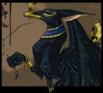 Egyptian Scribe by espie