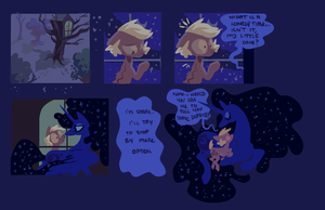 speed comic - Forty Winks and Luna by ponywise