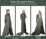 Progress - Thranduil by DennisB-Art