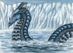 ACEO - Beneath The Arctic Waves by FireFairy319