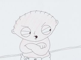 stewie griffin by Pineapple87