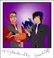 SlyFoxHound and ImmortalHD by mmcalpharho
