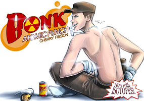 TF2: Bonk Energy Drink by DarkLitria