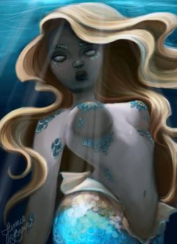 Mermaid No.1 by MissJamieBrown