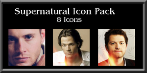 Supernatural Icon Pack by xcharmedfanx