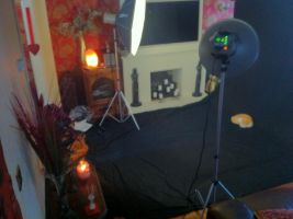 my lounge being tired into a photo shoot lol by blazetame